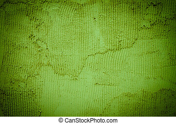 Background texture of a green wall