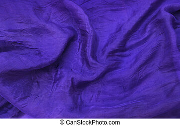 Deep purple silk drape - Deep purple silk chiffon drape...