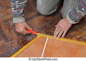Home renovation tiles