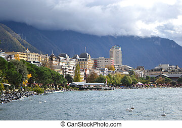 View of Montreux, Switzerland - View of Montreux, Geneva...