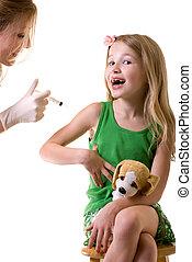 obteniendo, vacunado