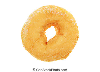 Doughnut - Single ring doughnut isolated on white