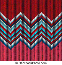 Knitted Seamless Fabric Pattern