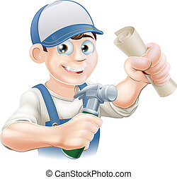 Construction Training - Builder or carpenter with...