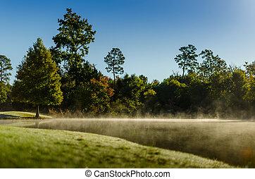 Low fog Lake