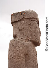 Ancient Monolith Ponce, Bolivia - Ancient Monolith Ponce...