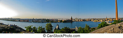 View on the City hall and Stockholm