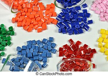 polímero, Resinas, blanco