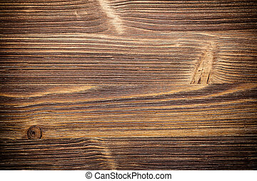 Wooden textured - Horizontal old brown wood textured,
