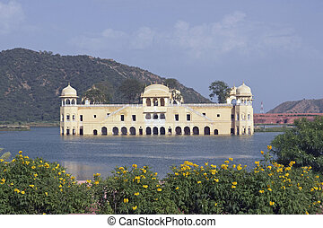 Jal Mahal Water Palace - Water Palace Jal Mahal in the...