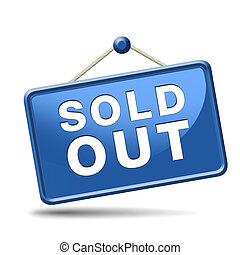 sold out icon - sold out of stock no longer available icon...
