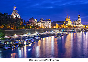 Dresden, Germany skyline