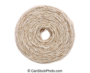 coil of linen twine