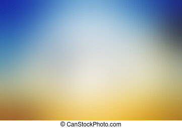 Simple colorful gradient background - White blue and brown...