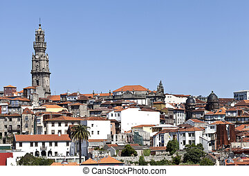 Clerigos Tower and Porto Old City - The Clerigos Church or...
