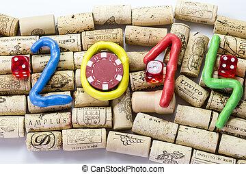 nuevo, año,  2014
