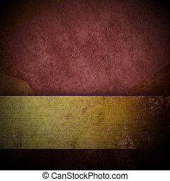 dark brown background with gold ribbon copy space - dark...