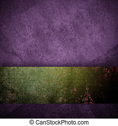 purple background black design with vintage grunge...