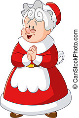Mrs Claus - Happy Mrs Claus