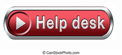 help desk icon - help desk or online support call center...