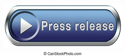 press release wtih breaking hot and latest news items button...