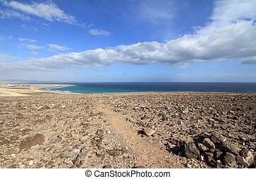 Sotavento mirador - Mirador of Sotavento beach on the...