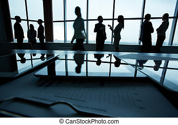 ビジネス, オフィス, 人々