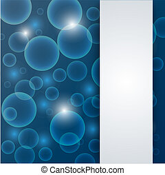 abstract blue deep - water background