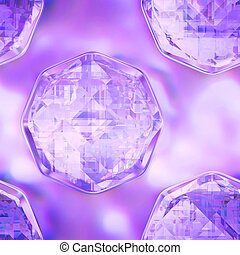 Seamless crystal texture - Computer graphic, big collection...