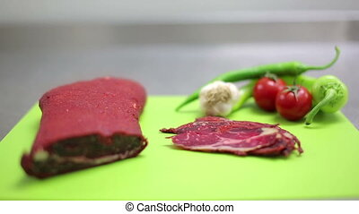 Traditional cold meats