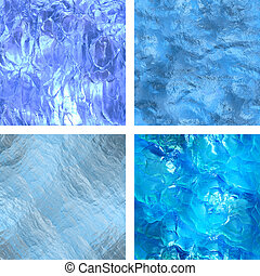 Seamless ice texture - Computer graphic, big collection of...