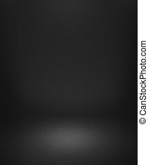 Black Empty Spotlight Interior Background