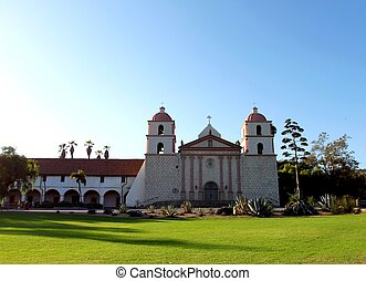 Santa Barbara Mission - The Spanish historic Santa Barbara...