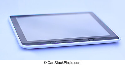 tablet computer isolated