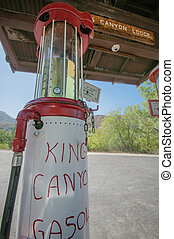 Kings canyon lodge gasoline - Kings canyon lodge gas station...