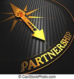 Partnership Business Concept - Partnership - Business...