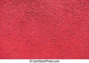 Red vintage plaster background