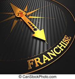 Franchise. Business Concept. - Franchise - Business Concept....