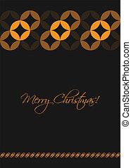 christmas greeting card, special vector design, eps10