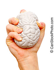 Stress ball help to relieve the stress and muscle tension