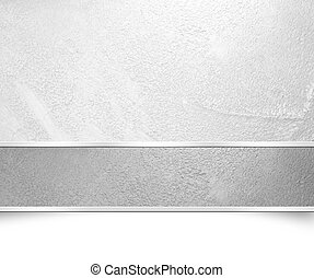 Silver grey background banner