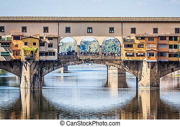 Ponte Vecchio Florence Italy - An image of the Ponte Vecchio...
