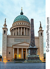 St Nicholas Church, Potsdam, Germany - St Nicholas Church in...