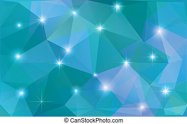 Vector abstract polygonal background, pattern