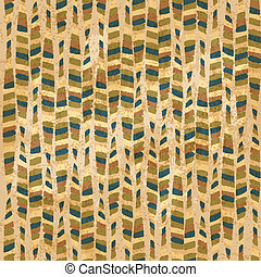 vintage hand-drawn seamles pattern - vector illustration
