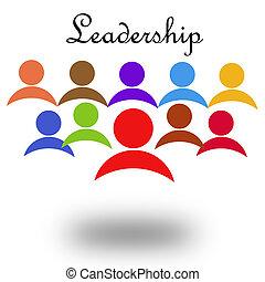 Leadership - Hi-res original rendered computer generated...