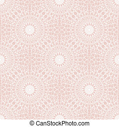 Lace seamless pattern - vector illustration
