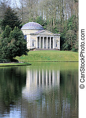 Folly 3 - Folly in Stourhead gardens