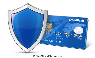 Secure Payment Concept - Secure Payment Credit card and...
