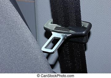 asiento, cinturón